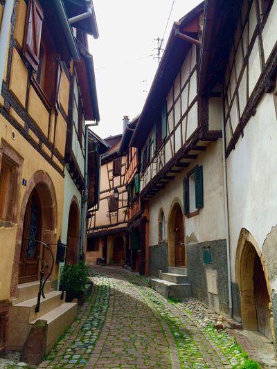 2016 April France Alsace Alsace-Lorraine Village House
