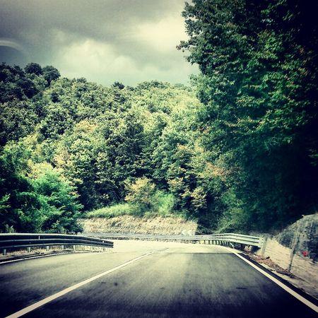direzione Valfabbrica, Umbria Light And Shadow Landscape Nature Colors
