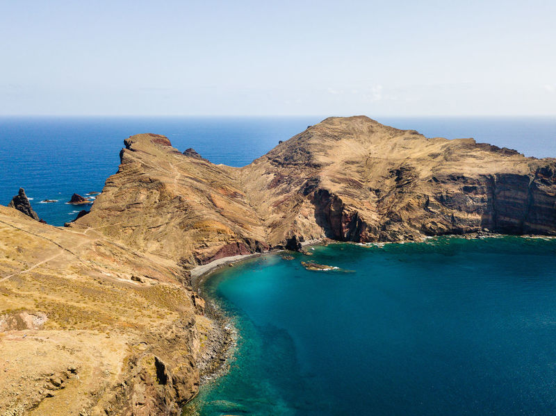 Cliffs on Madeira Island Drone  Madeira Island Bay Beach Beauty In Nature Blue Cliff Dronephotography Formation Horizon Over Water Idyllic Land No People Outdoors Rock - Object Rock Formation Rocky Coastline Scenics - Nature Sea Sky Tranquil Scene Tranquility Turquoise Colored Water