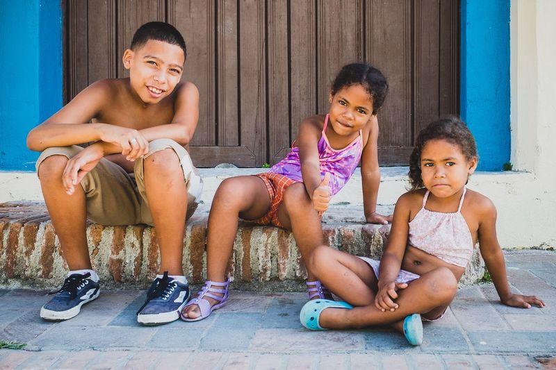 Kids in Camagüey