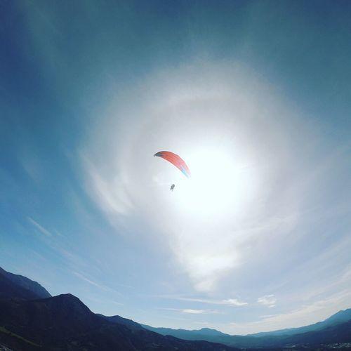 Parapente Parapente Sky Adventure Extreme Sports Paragliding Mid-air Flying Sport