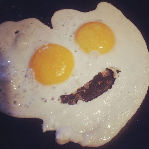 : ) Smiley Smile CookingMichi Miam Nomnomnom Yummy Eggs Food InstaFood : )