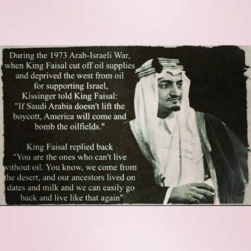 The best thinking ever... Inaporing Fightingback Kingfaisal Thoseamericans