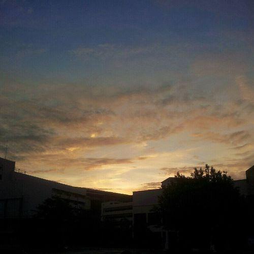แต่เช้า~* Sunrise Twilight Shadow Rucampus thailand sky skyporn