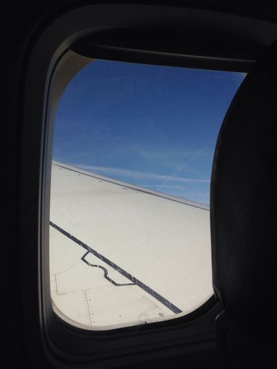 From A Airplane Window Airplane Window Cobalt Blue By Motorola