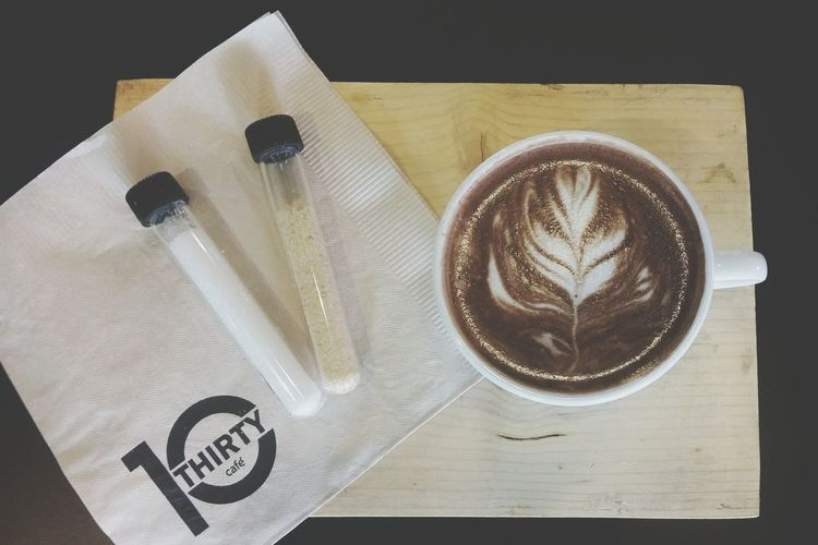 10thirtycafe' Besttime ♥ Ilovecoffee Hot Chocolate