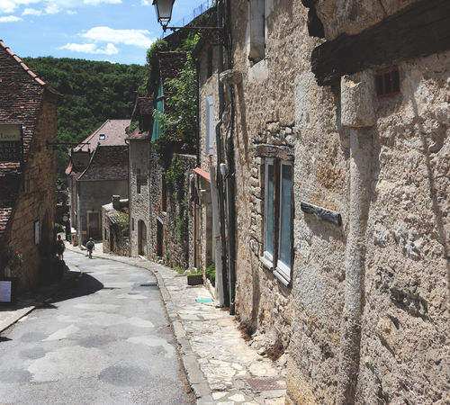 Architecture Building Exterior Built Structure Day France No People Outdoors Rocamadour Sky Summer The Way Forward Travel Travel Destinations Travelling Travelling Photography