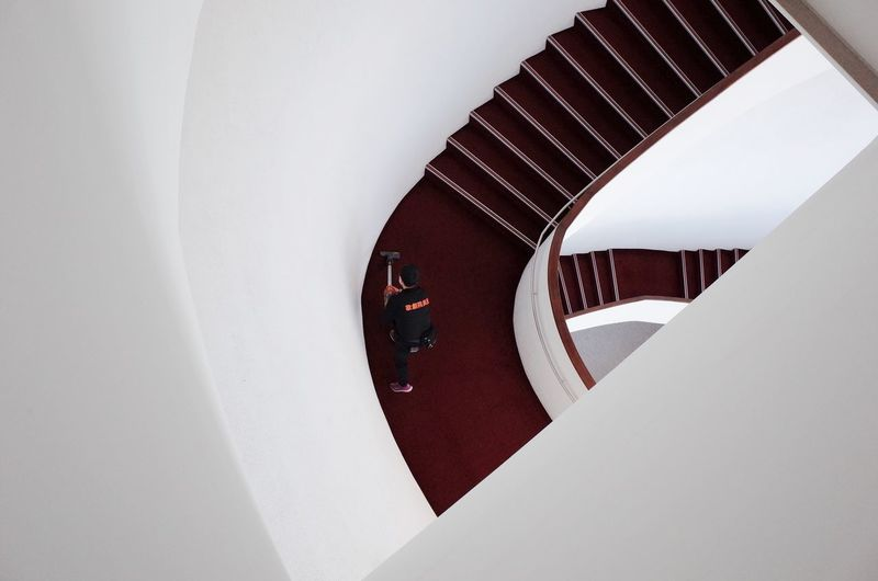 Cleaner Stairs