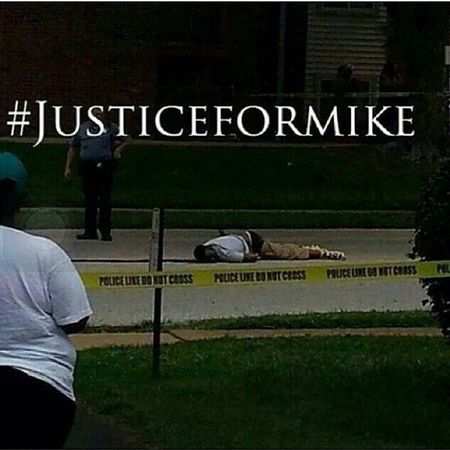 So sad to sit and watch this on the news tonight...so wrong... prayers going out to the brown family can't imagine how they are feeling at this time ... and to find out the same time as everyone else...Kmt so disrespectful Justiceformike Nojustice NoPeace mikebrown rip