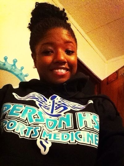 Just came from Cheerleading practice ❤