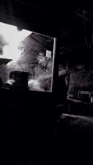 bakmie jawa Streetphotography Jakarta Blackandwhite