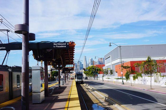 Pixxzo DTLA DTLA Skyline Dtla Art District Los Angeles, California Metro Metro Station