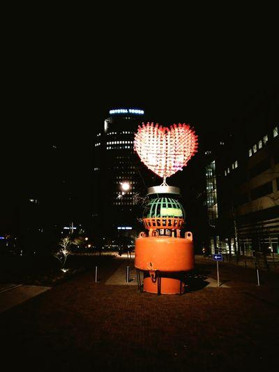 Station Platform Art Heart ❤ Love ♥