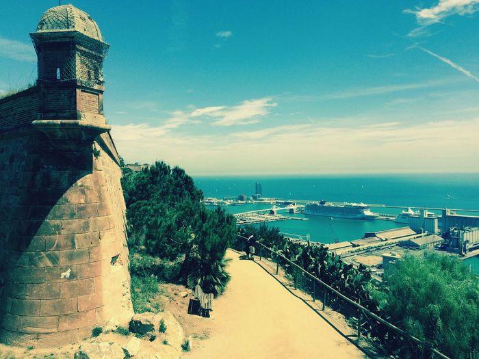 Barcelona Oldandnew Castle Sea View Holiday