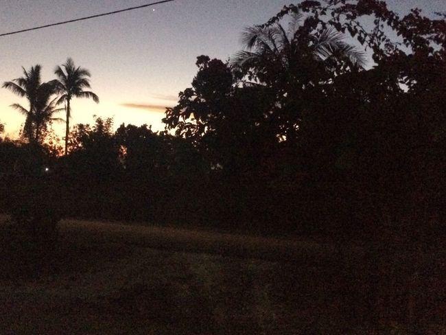 Sunset No People Dark