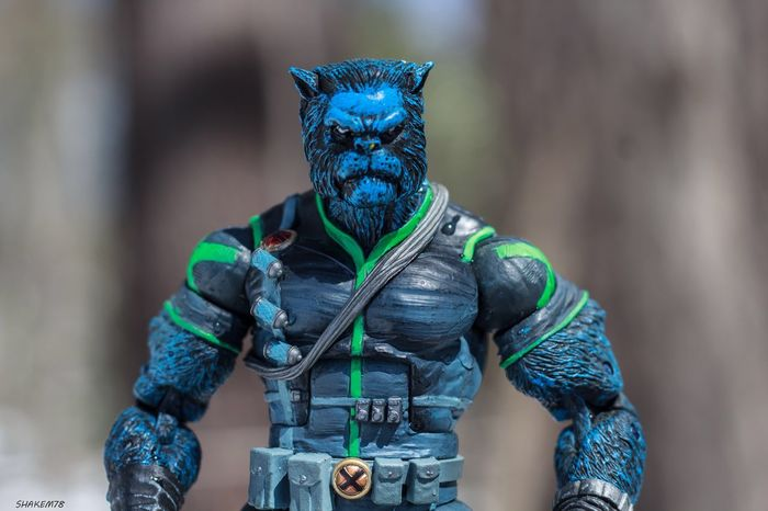I'm really digging this version of Beast. Toyaddict Toyboners Toys Marvel Toyphotographer Toycommunity Photography Plasticcrack Toyphotography Toysoutdoors Beast Toy Photography