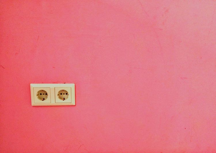 Color Palette Pink Pretty In Pink Pink Wall Electricity  Electrical Outlet Wall Fresh On Eyeem  Pink Color Pink! Pink Two Is Better Than One Millennial Pink Neon Life