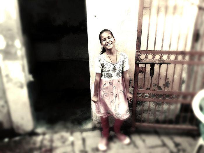 Indian Villager Girl Childhood Girlchild