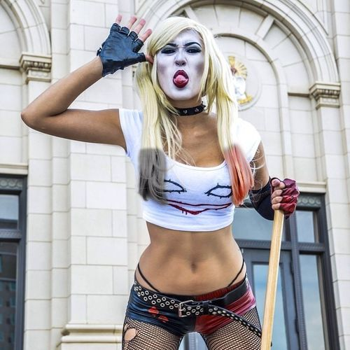Ms. Quinn Cosplay Cosplayer Comics DC Comics People And Places