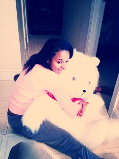 Me Nd My New Teddy