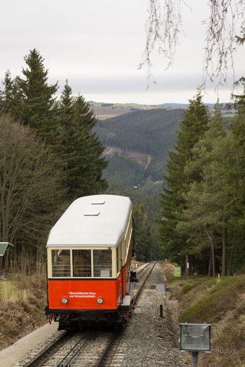 Bergbahn Oberweißbach . Transportbühne mit Personenwagen Heikobo Fotografie Foto 2016 Das Schöne Thüringen Schönes Thüringen Oberweißbach Bergbahn Bahn