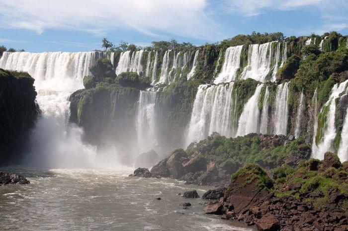 Argentina Argentinien Cataratas Del Iguazu Garganta Iguazu Iguazu Falls Iguazu Wasserfälle IguazuFalls Nature Wasserfälle