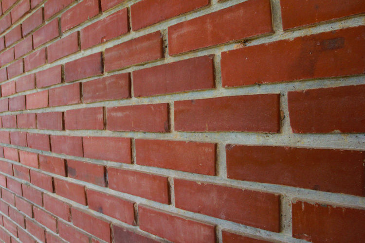 Brick Wall Brick Red Full Frame Backgrounds Wall - Building Feature Architecture Wall Pattern Built Structure No People Textured  Day Repetition Outdoors Close-up Brown Building Exterior Design Abstract
