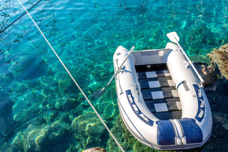 Dinghy in the