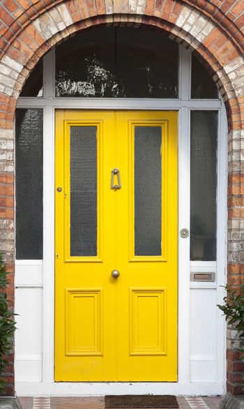 Dublin Individuality Ireland Old Fashioned Resistance  Wood Architecture Building Exterior Civil Day District Door English Entrance Façade Gregorian Historical Law Medieval Neighborhood No People Outdoors Series Yellow