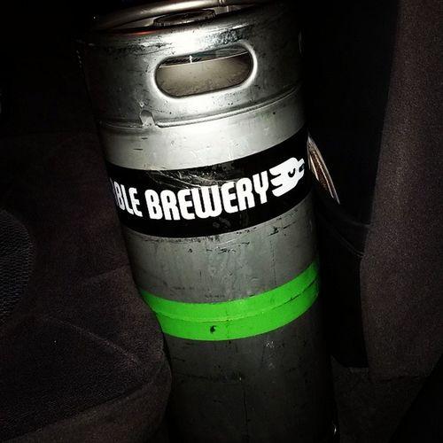 Superbowl Marblebrewery Doublewhite Keg thanks @marblebrewery