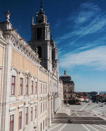 Mafra, Lisboa, Portugal Convento De Mafra Built Structure Architecture History Historic Architectural Feature Famous Place Outdoors Sky