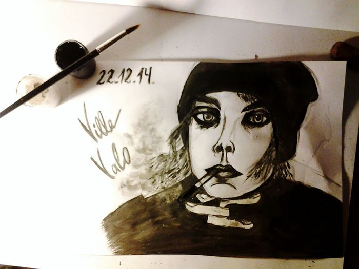 Villevalo Art Drawing Him