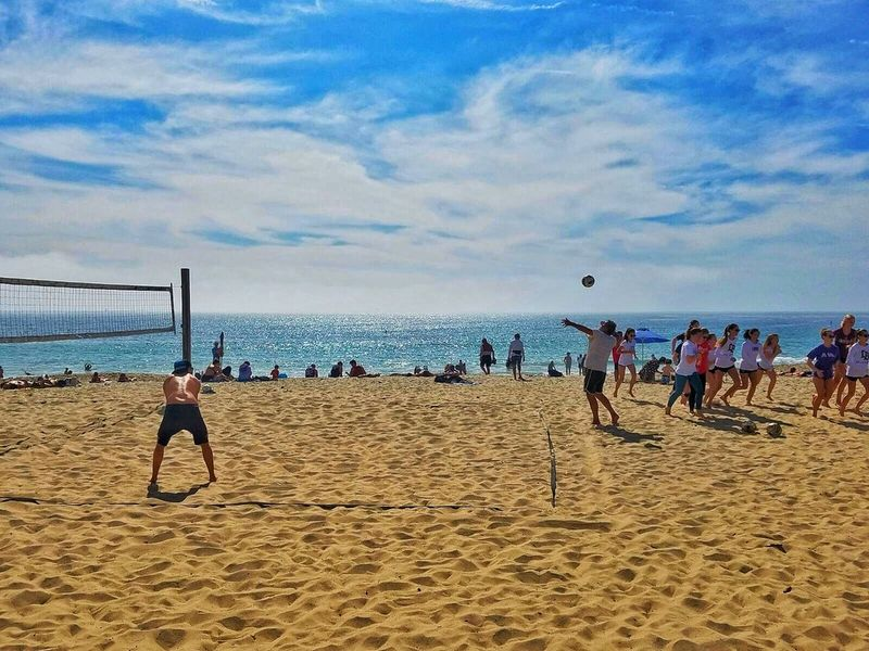 EyeEm Diversity Beach Sand Volleyball - Sport Sea Beach Volleyball Sky Net - Sports Equipment Nature Sport Soccer Only Men Lifestyles Water Horizon Over Water Outdoors Playing Day People Adults Only Sportsman South Africa South Africa 🇿🇦 Africa Day To Day Volleyball
