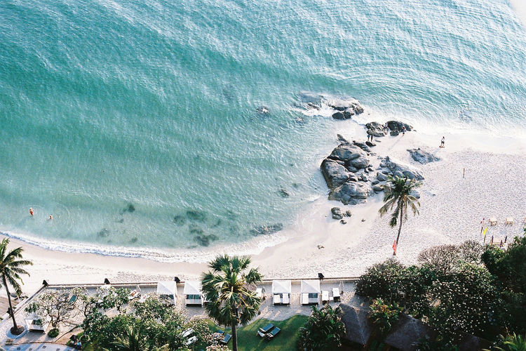Beach Photography Huahin Nature Nature Photography Thailand Architecture Beach Beachphotography Beauty In Nature Birdseyeview Blue Building Exterior Day High Angle View Horizon Over Water Nature No People Outdoors Palm Tree Photooftheday Sea Sky Tree Water Wave