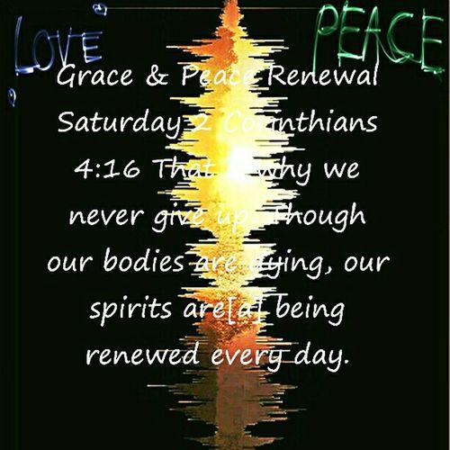 Grace & Peace Renewal Saturday