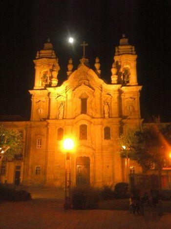 convento dos Terceiro Hi! Getting In Touch Night Lights A Minha Cidade Braga,Portugal