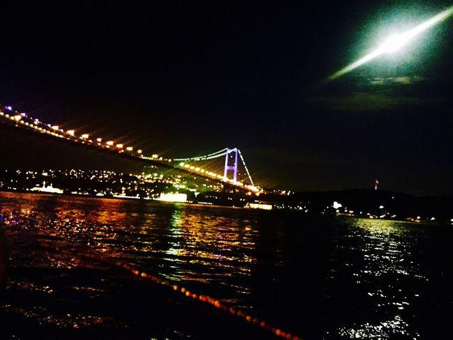 Popular Photos Istanbul Turkey Light Taking Photos Colors EyeEm Best Shots Bosphorus Moon The Week Of Eyeem