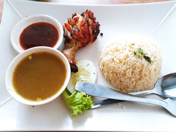 Nasi Ayam For Lunch Time! 🍛yummy