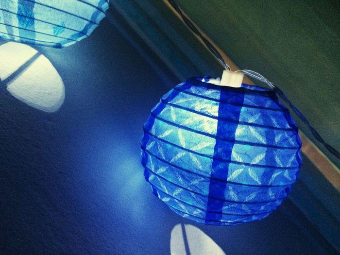 Smart Simplicity Blue Shine Colors Lumière Guirlandes