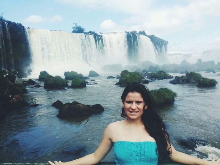 Sétima maravilha do mundo. That's Me Hello World CATARATAS DO YGUAÇU. Vscocam Hi! Nature