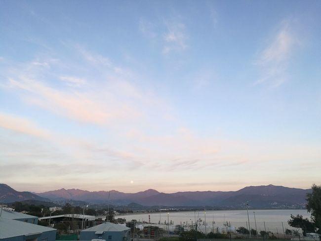 Sky Outdoors Cloud - Sky Corse Ajaccio Lune Moonlight Soir