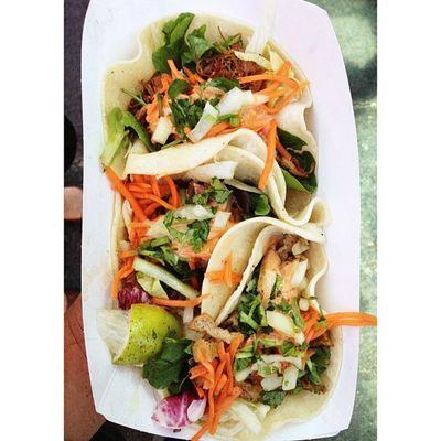Thai Tacos. Yacos Bomb Foodtrucks