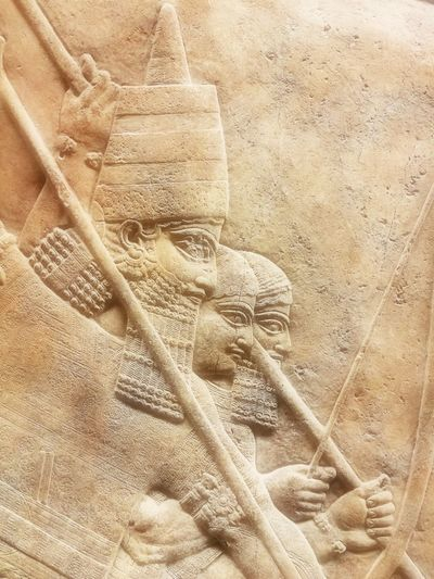 British Museum, Persian, Carving, Sculpture Sculpture Persian Nineveh