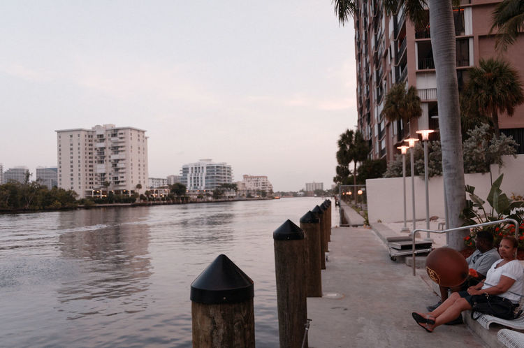 Architecture Boat Built Structure Canal City City Life Day Fort Lauderdale  Fort Lauderdale FL Mode Of Transport Nature Nautical Vessel Outdoors Rippled Sky Water Wooden Post