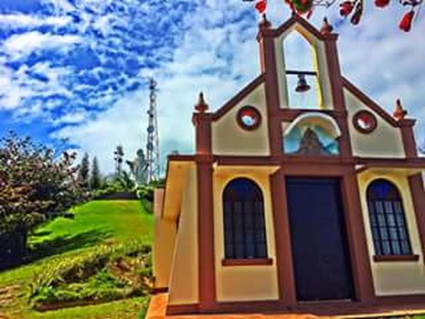 The Shrine of Our Lady of the Most Holy Rosary Architecture Caramoan Island, Camarines Sur Church Cloud - Sky Day Nature No People Outdoors Philippines Sky The Shrine Of Our Lady Of The Most Holy Rosary Tree First Eyeem Photo