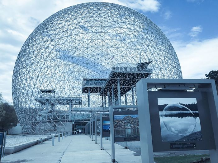 The Architect - 2017 EyeEm Awards Built Structure Cloud - Sky Biosphere ParcJean-Drapeau Musée De L'environnement Montreal