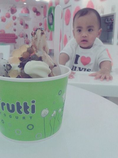 Cute Baby Tutti Frutti Icecream