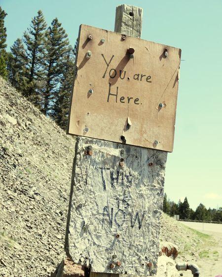 Sign Handmade Sign Montana Rogers Pass