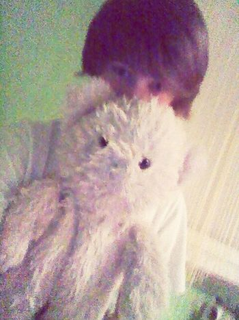 with/bestfriend/teddybear/I/have/his/from/3/years
