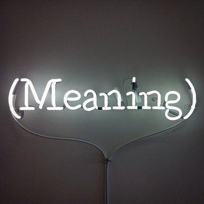 Venice Venicebiennale Venicebiennale2015 Meaning Neon Sign Neonlight Art Contemporary Art